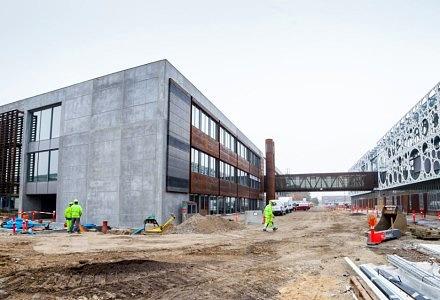 SDU har høje ambitioner for at inkludere bæredygtighed i forskningen og i deres egne bygninger.