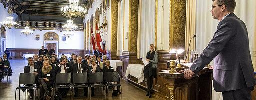 Københavns overborgmester Frank Jensen var en af talerne ved Real Estate Øresund Award (Foto: Flickr)