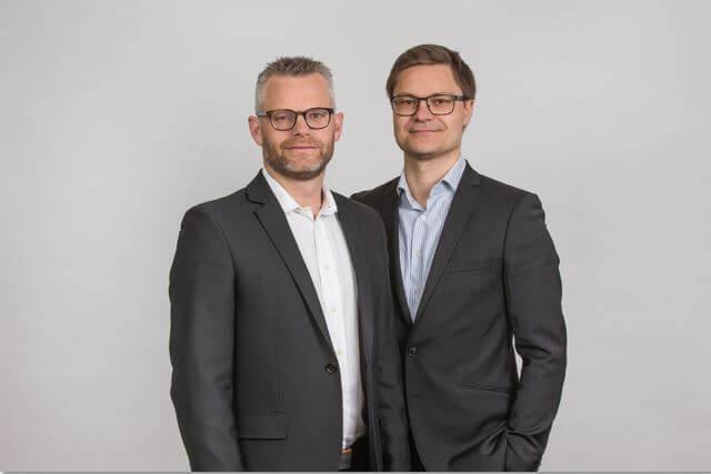 Søren Sloth (tv) og Lasse Stjernholm Detlevsen indtrådte sidste år i Gangsted-Rasmussen.