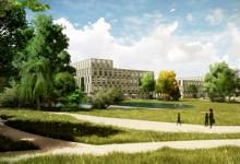 Novozymes Innovation Campus. Rendering: Vilhelm Lauritzen Arkitekter.