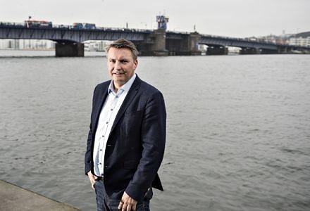Frank Jensen, regionsdirektør i EDC Erhverv Poul Erik Bech, Aalborg.