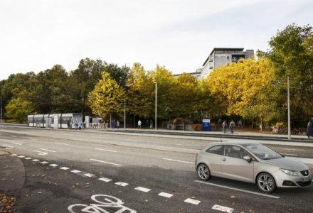 Hovedstadens Letbane - spor i Glostrup.