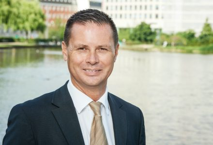 Jeppe Schoenfeld er tilfreds med udviklingen i indeværende år (Foto: Colliers)