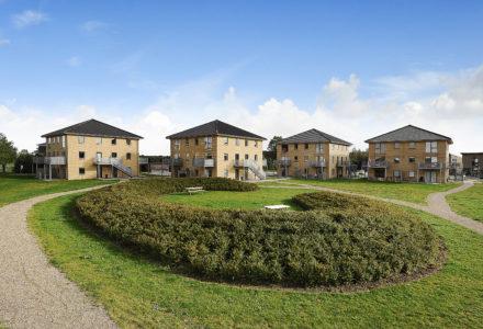 Byggeriet Vanddråben er blandt de boliger som Niam har overtaget med købet af HD Ejendomme.