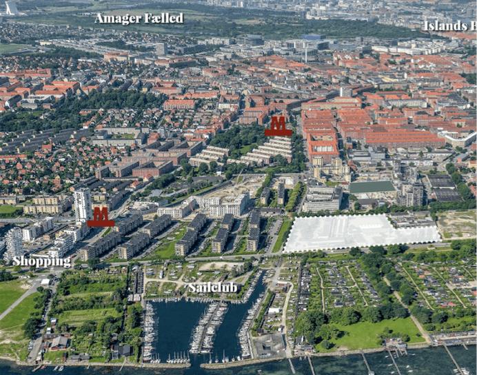 Gefion Groups projekt på Amager Strand.