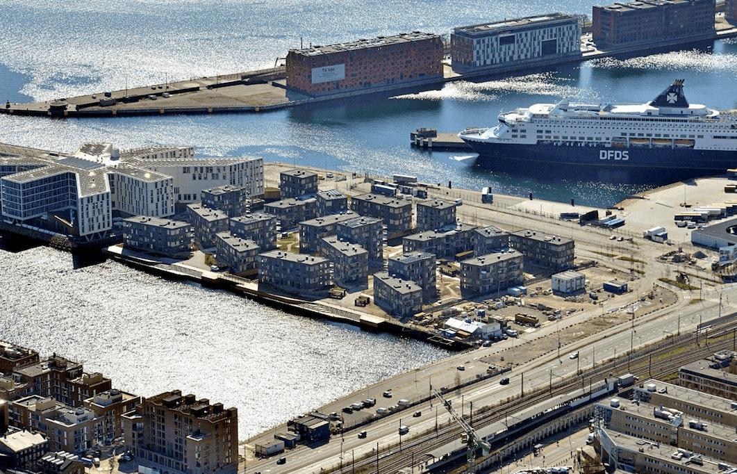 Marmorbyen. Nordhavn. Foto Patrizia