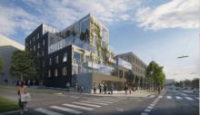 Ungdomsboliger i Aarhus tegnet af Rubow Arkitekter for Boligkontoret Aarhus.