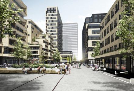 Estate - Bricks' planer på Frederiks Plads i Aarhus