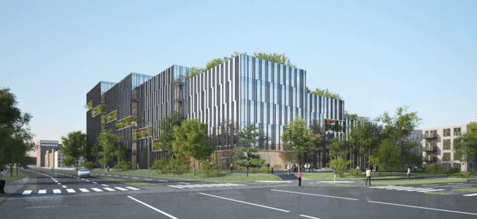 PwC bygger nyt domicil i Nordhavn. Facade. Foto By og Havn.