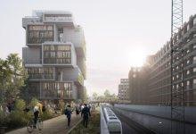 Sådan kan 13 etagers iværksætterby på Frederiksberg komme til at se ud