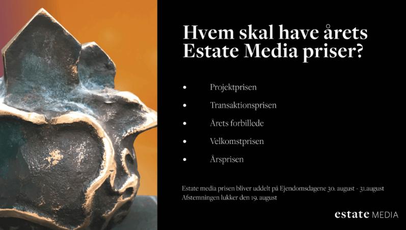 Estate Media Prisen er skabt af kunstneren Lina Murel Jardorf.