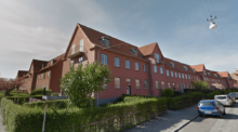 Den Sønderjyske By på Frederiksberg. Foto: Google Maps