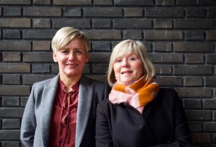 Pia Thomsen (tv) og Dorte Augustenborg, Arkitours.