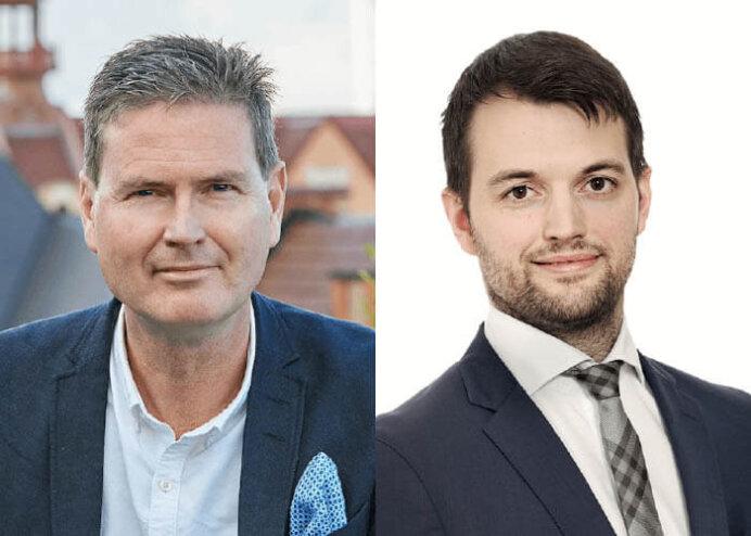 Adm. direktør Patrik Hall og CIO Christian Fladeland, begge Heimstaden