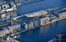 Casa bygger blandt andet i Nordhavn i København.