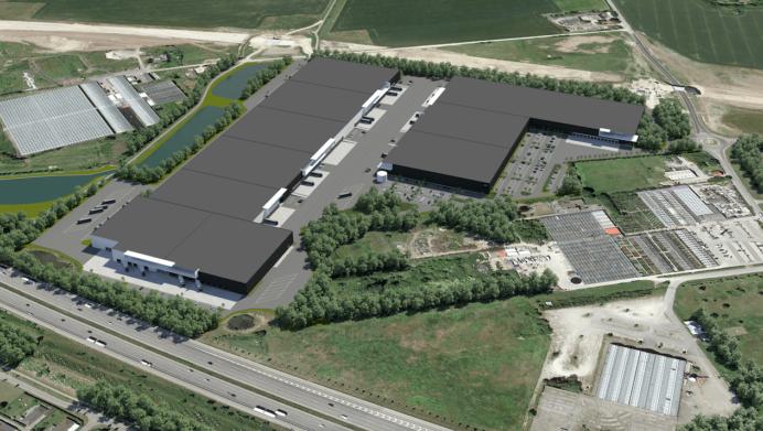 MG Real Estate logistikcenter i Greve.
