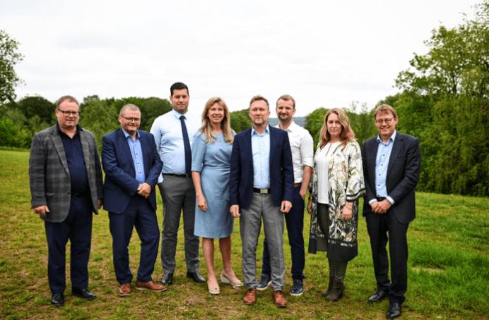 Dansk Ejendomsmæglerforening bestyrelse 2019.