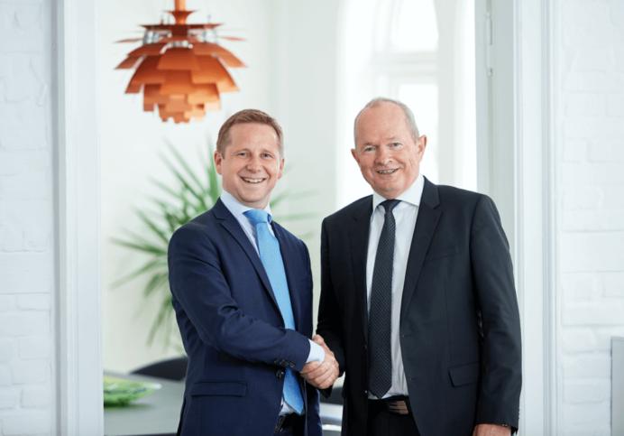 Morten Jensen og Peter Mahony (tv), Newsec Advisory.