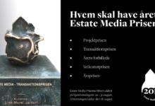Estate Media Priserne 2019: Se de nominerede og stem på dine kandidater