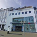 Butikscentret Bytorv Horsens, som ejes af Scandinavian Shoppingcenter Partners (SSCP) sammen med Jesper Andreasen og familie fra Rødovre Centrum, ligger på gågaden Søndergade 14 i Horsens. Foto: Google Maps