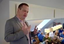 Forhenværende direktør for Boliggården i Helsingør Lars Carl Gruby. Foto: Boliggården