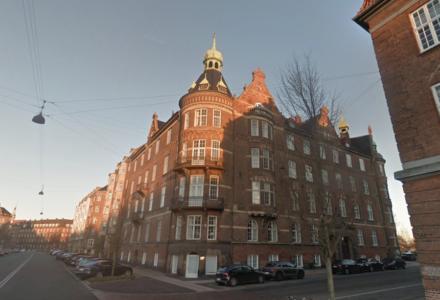 Copenhagen Capital, Stavangergade 6 ligger på hjørnet af Kristianiagade og Stavangergade i Østerbros ambassadekvarter. Foto: Google Maps