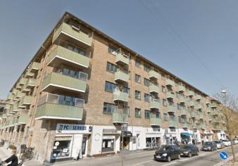Andelsboligforening på Frederiksberg. Foto: Google Maps