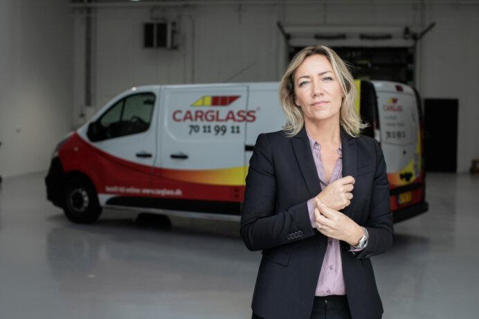 Adm. direktør Carina Bukkehave, Carglass. Foto: Carglass