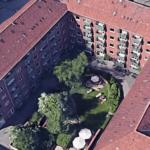 Andelsboligejendommen på Frederiksberg. Foto: Google Maps