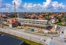 Den 1.200 kvm store Netto-butik kommer til at ligge i ejendomsprojektet Teglværkskvarteret ved Gammelby Ringvej i Esbjerg. Foto: PR