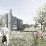 Vinderprojektet i Holstebro. Illustration: Team Vandkunsten