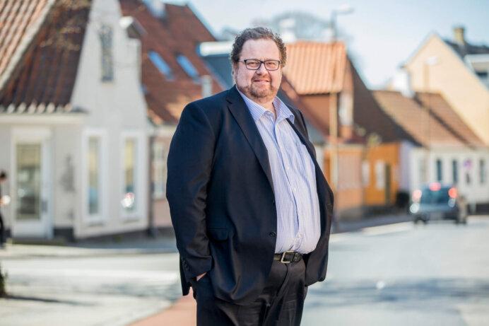 Regionsdirektør John Borrisholt, EDC Erhverv Poul Erik Bech Sjælland.