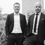 Jonas Graves Basse (til venstre) og Kenneth Engberg, begge partnere i Danbolig Erhverv København. Foto: Danbolig Erhverv
