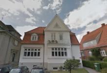 378 kvm stor boligejendom på Ny Allegade 19 i Haderslev er blandt de ejendomme, Freja Ejendomme solgte i 1. halvår 2019. Foto: Google Maps
