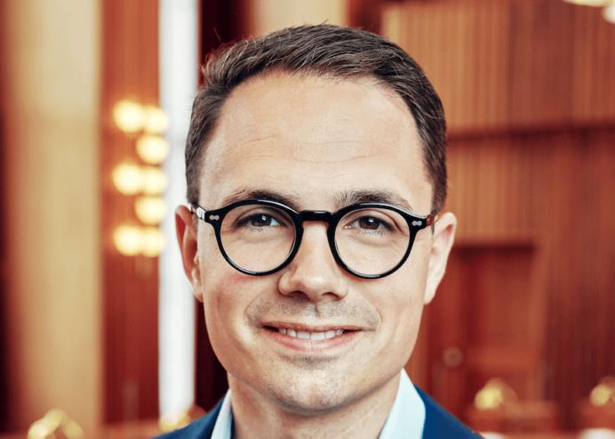 Borgmester på Frederiksberg Simon Aggesen, Det Konservative Folkeparti. Foto: Frederiksberg Kommune