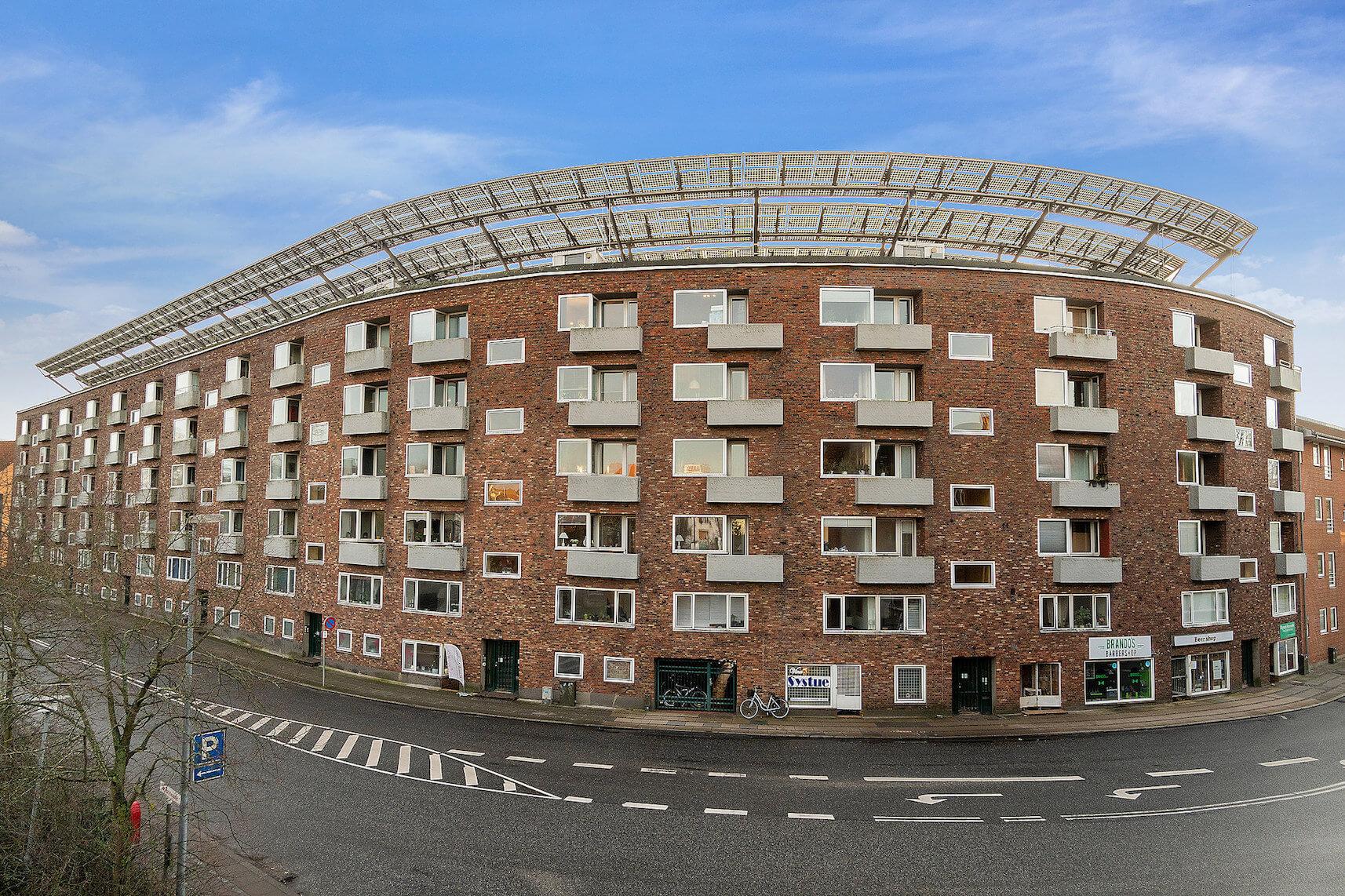 Solgården/ejendommen Sdr. Havnegade 2 m.fl. i Kolding. Foto: PR Colliers