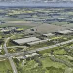 Verdion-projektet mellem Køge Bugt Motorvejen og den nye højhastighedsbane mellem Ringsted og København. Illustration: PR