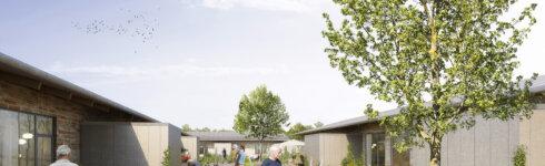Projektet med Vibehaven i Odense. Illustration: Årstiderne Arkitekter