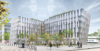 EY's nye hovedkontor i Danmark. Illustration: Vilhelm Lauritzen Arkitekter