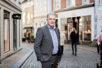 Retailchef i EDC Erhverv Poul Erik Bech, Frank Heskjær. Foto: EDC
