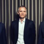 Kerebys direktion – fra venstre: COO Kenneth Ohlendorff, CEO Lars Pærregaard og CFO Ole Markussen. Foto: Kereby