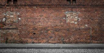 mursten, mur, bygning, ejendom