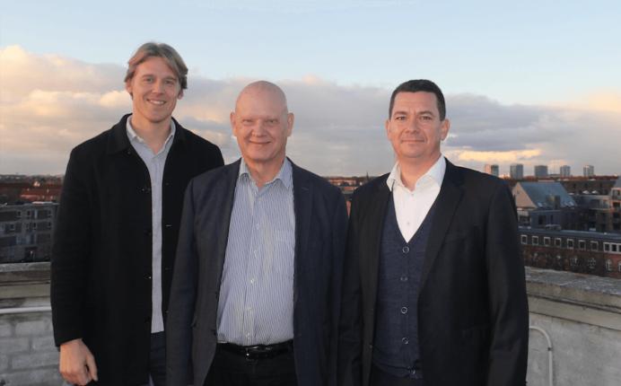 Fra venstre: Kasper B.B. Rasmussen, Henrik Klinge og Jesper-Max Larsen. Foto: Lasse Gammeljord