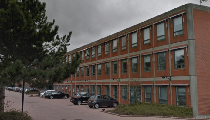 Kontorbygningen i Brøndby. Foto: Google Maps