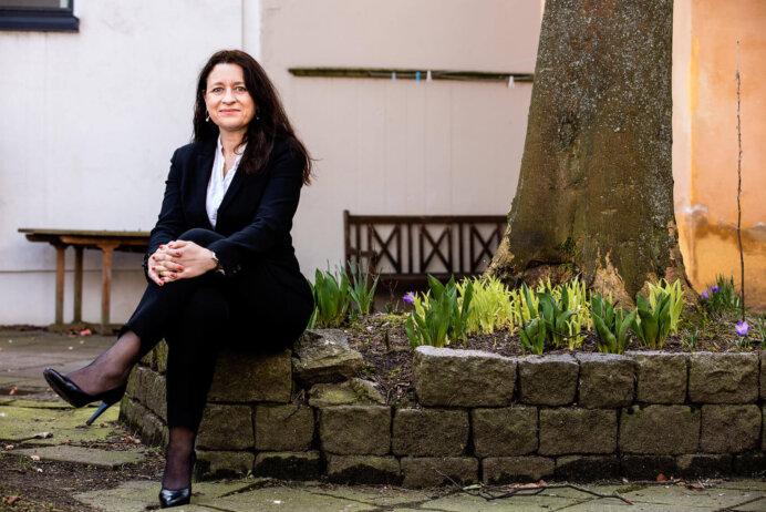 Chefredaktør Kamilla Sevel, Estate Media. Foto: Wilfred Gachau