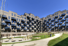 HHM har netop afleveret Møbelfabrikken i Søborg med 183 boliger for Dades. Byggeriet er udført i totalentreprise sammen med Sweco Architects og Sweco Danmark. Foto: HHM