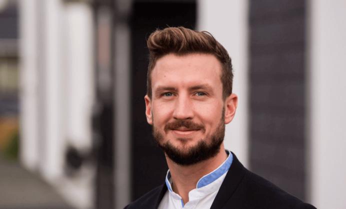 Adm. direktør, stifter og medejer Jacob Karlsson, K-Fast Holding AB