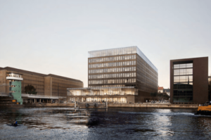 Strandgade 7 på Christianshavn i København – det tidligere Ørkenfortet. Illustration: Arkitema/ATP Ejendomme