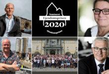 Ejendomspriserne 2020: Fem kæmper om hovedprisen Ejendomsprisen – giv din stemme