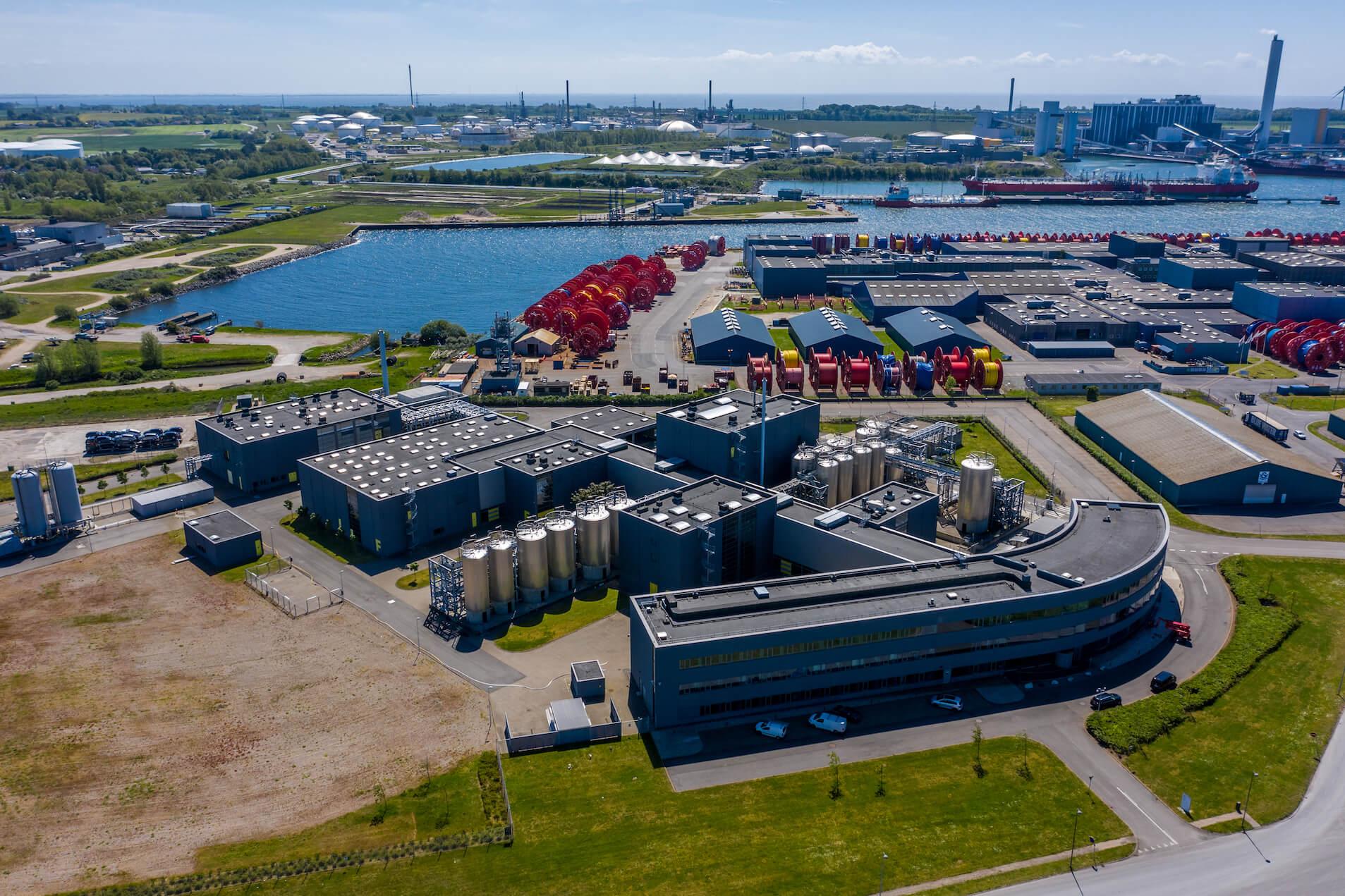 Chr. Hansen køber 15.000 kvm stor sjællandsk fabrik...